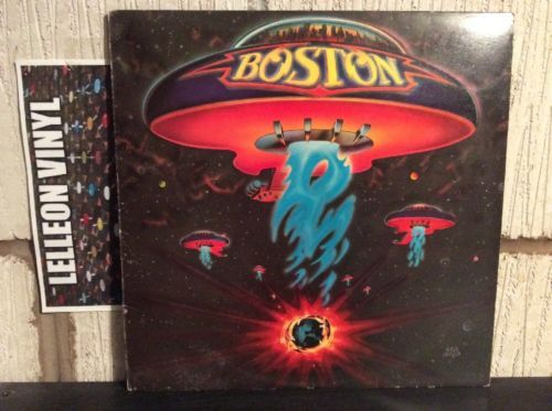 Boston Self Titled Lp Album Vinyl Record Epc81611 Rock 70