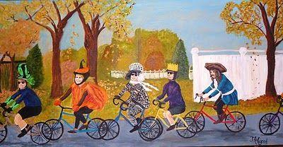 halloween on a bike - Google Search