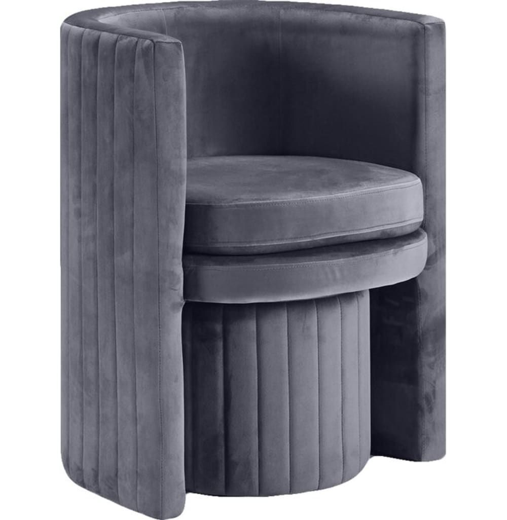 Give Your Small Space A Major Upgrade With These Under 200 Accent Pieces From Allmodern S End Of Fall Sale Barrel Chair Chair And Ottoman Chair