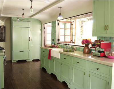 Charming I Wish David Liked Sea Foam Green As Much As I Do, My Kitchen Would
