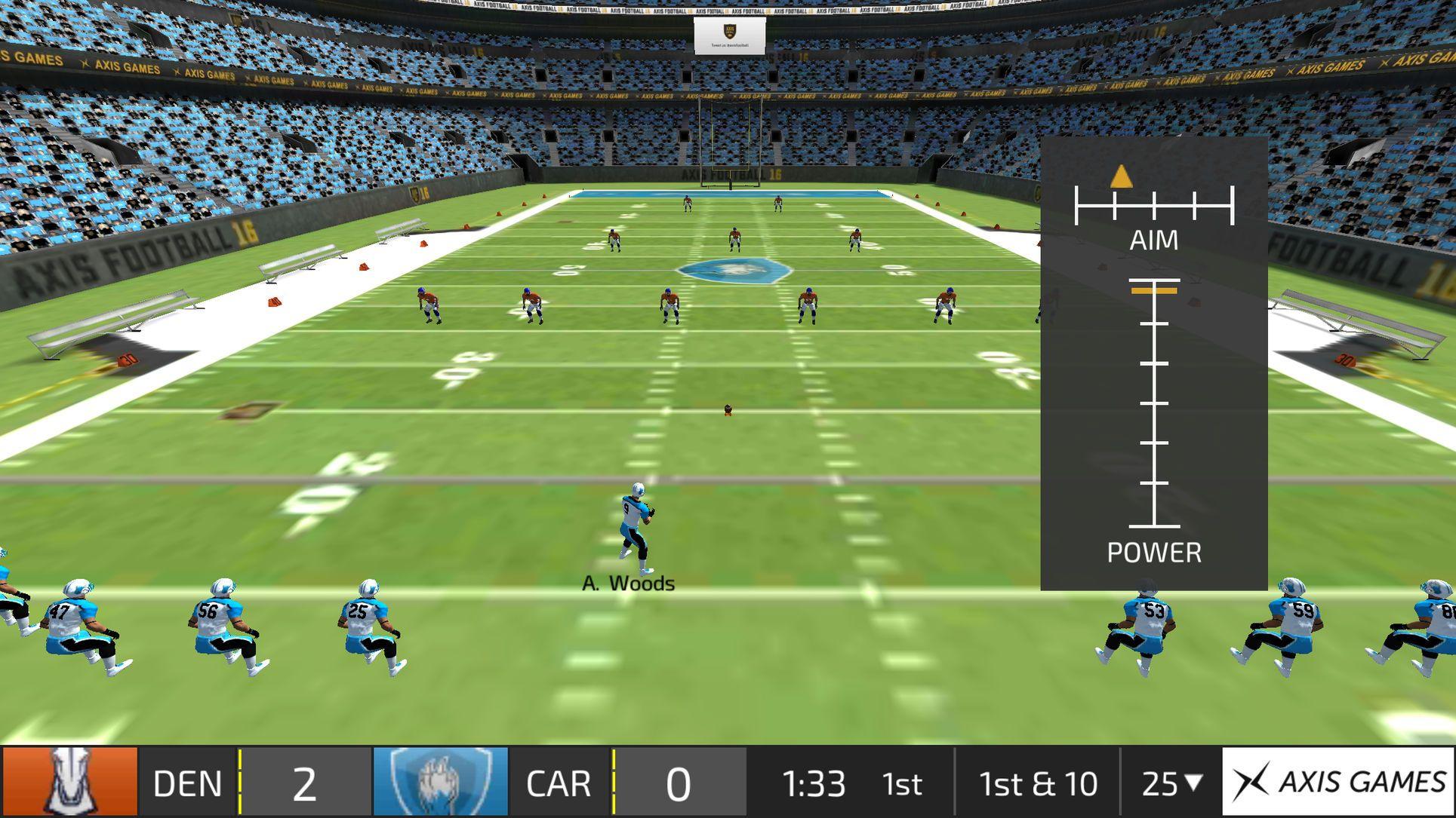 Axis Football SimulationSportsappsios Football