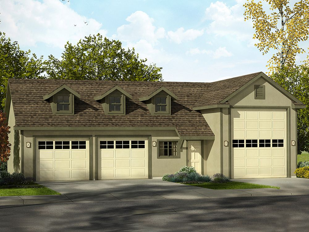 The garage plan shop blog 5 new rv garage plans for your for How tall is an rv garage door