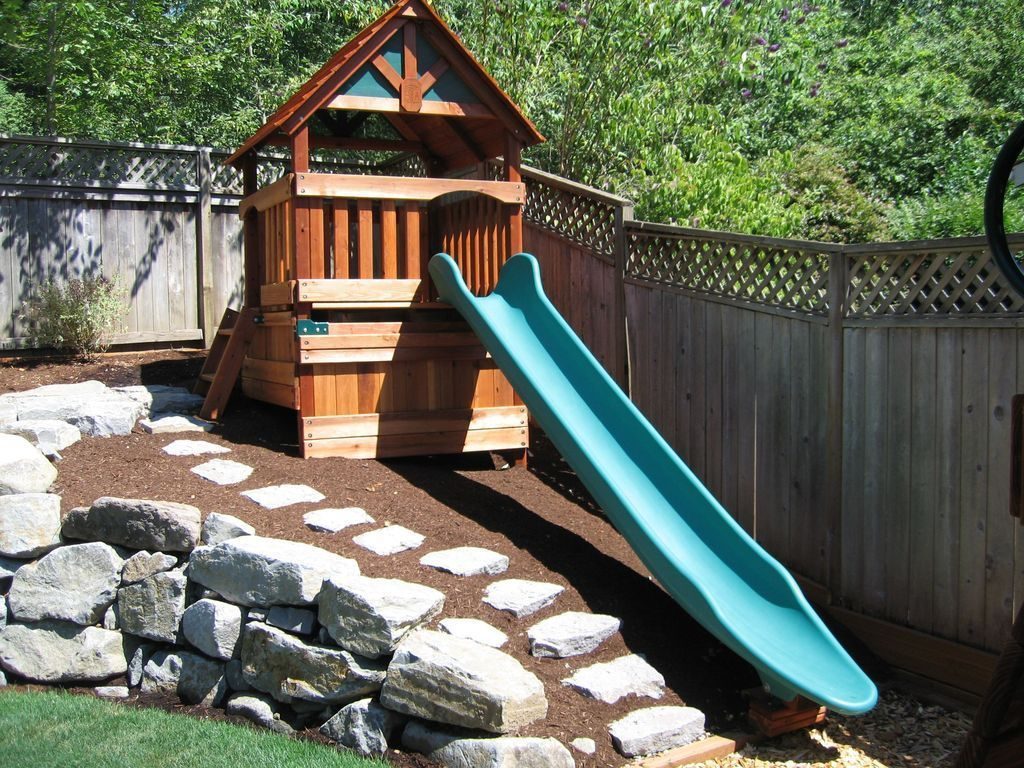 Fine 34 The Best Backyard Playground Ideas For Kids ...