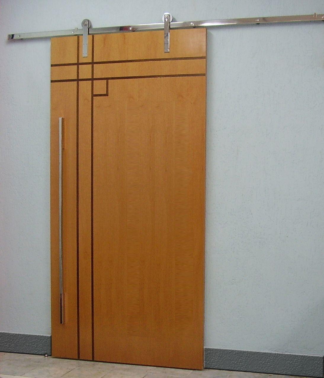 porta lisa friso roldana aparente reforma decoração de portas