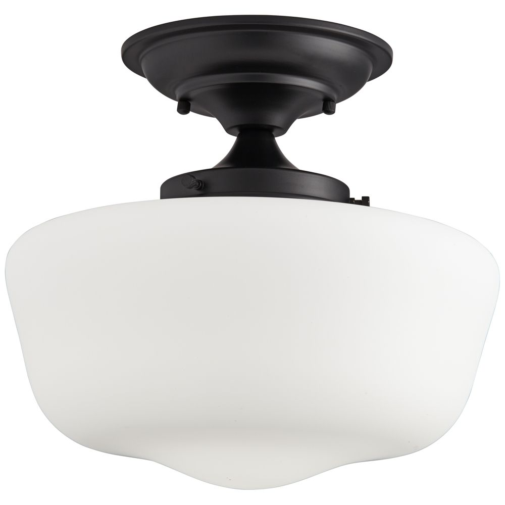 Schoolhouse 12 1 4 Wide Black Finish Floating Ceiling Light Style 84j11 Ceiling Lights Floating Ceiling Black Light Fixture