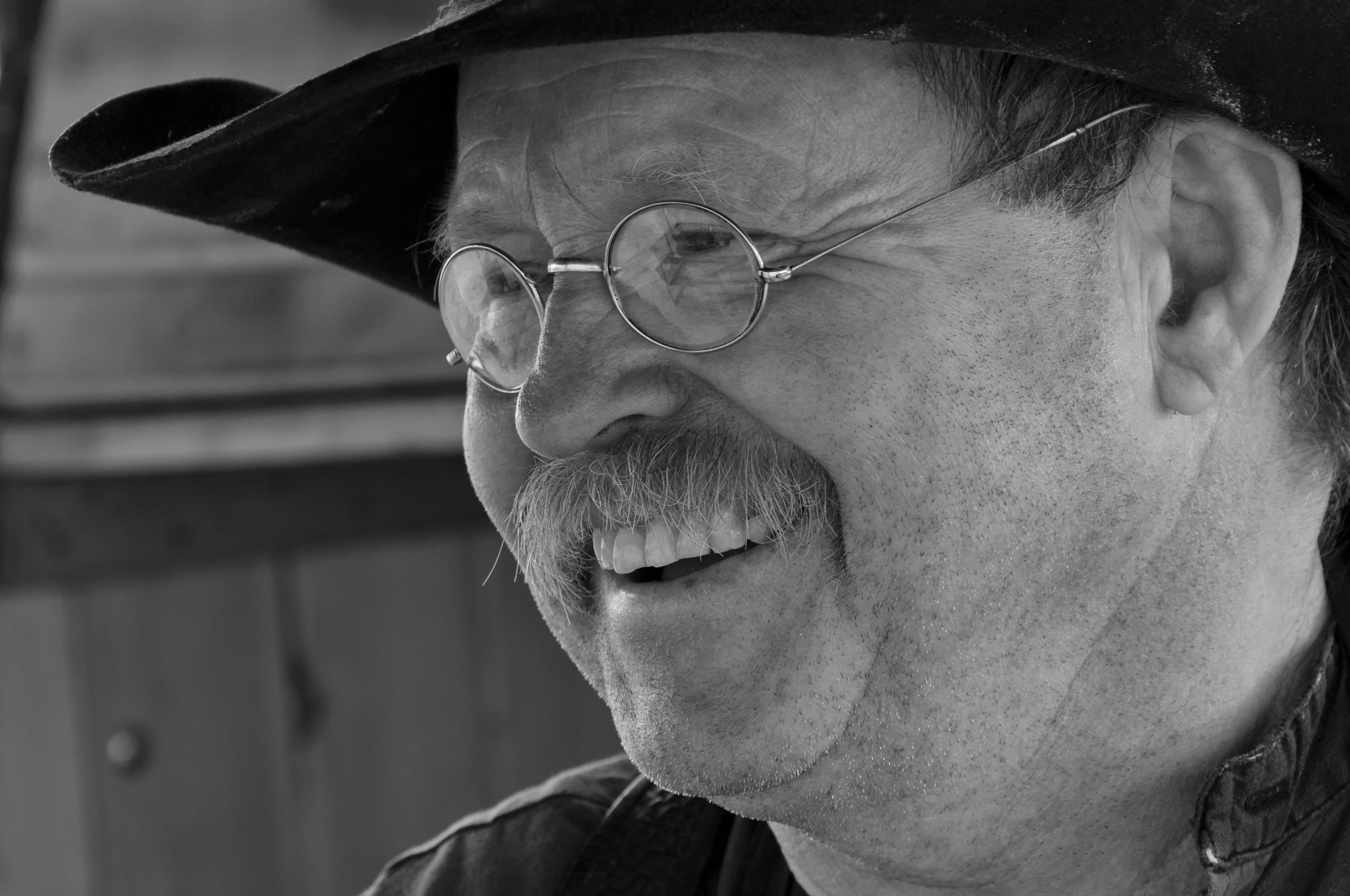 Cowboy poet and chuckwagon cook John Shaffner.
