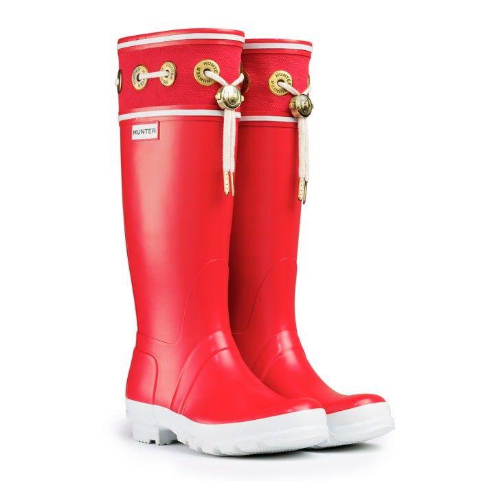 red hunter boots | Zapatos, Bolsos, Accesorios