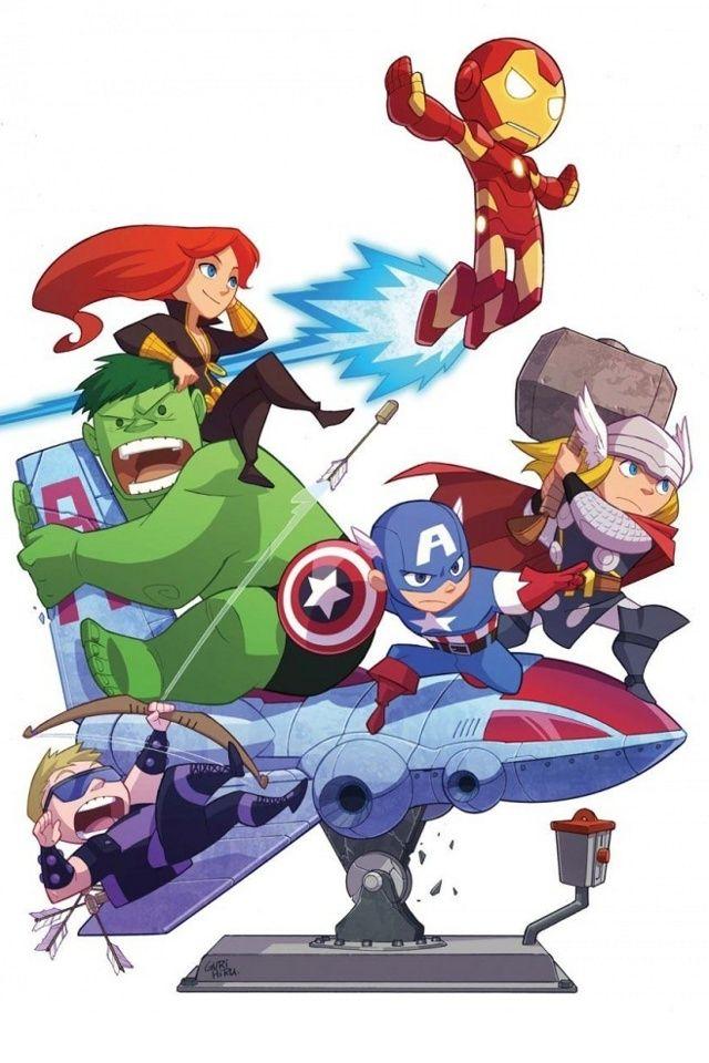 Pin On Wallpapers Baby avengers cartoon wallpaper hd