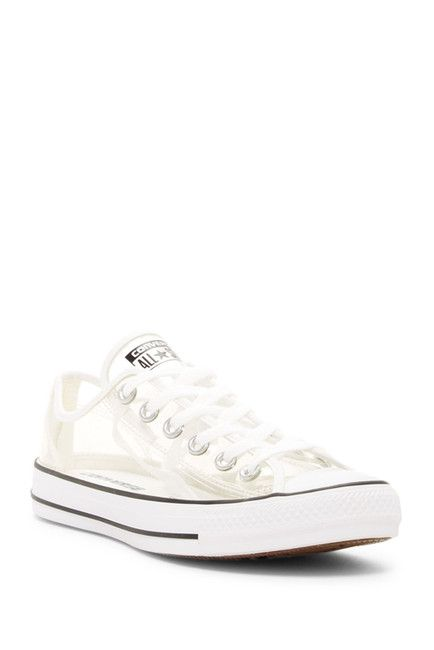 d74195ae5dca Image of Converse Chuck Taylor(R) All Star(R) Clear Ox Low Top Sneaker  (Unisex)