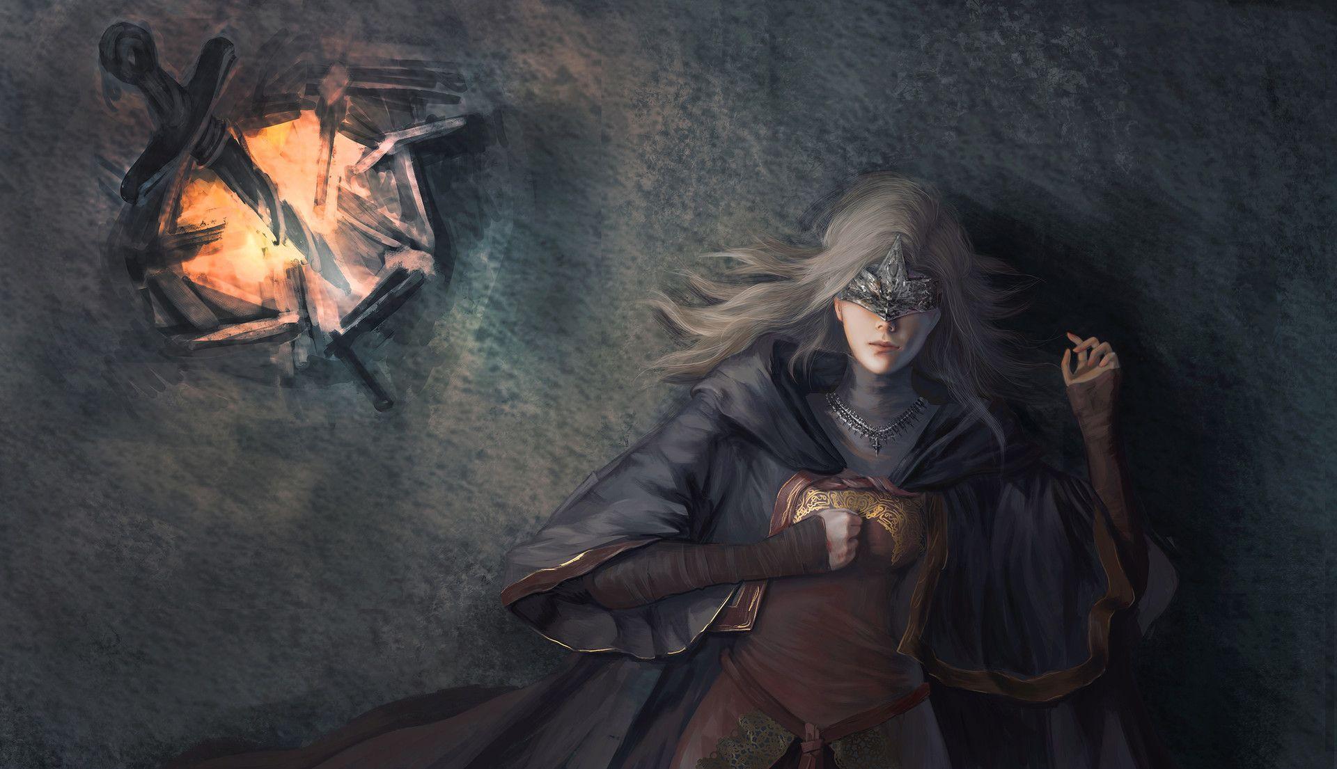 Artstation Fire Keeper Adora Zhang Dark Souls Fire Keeper
