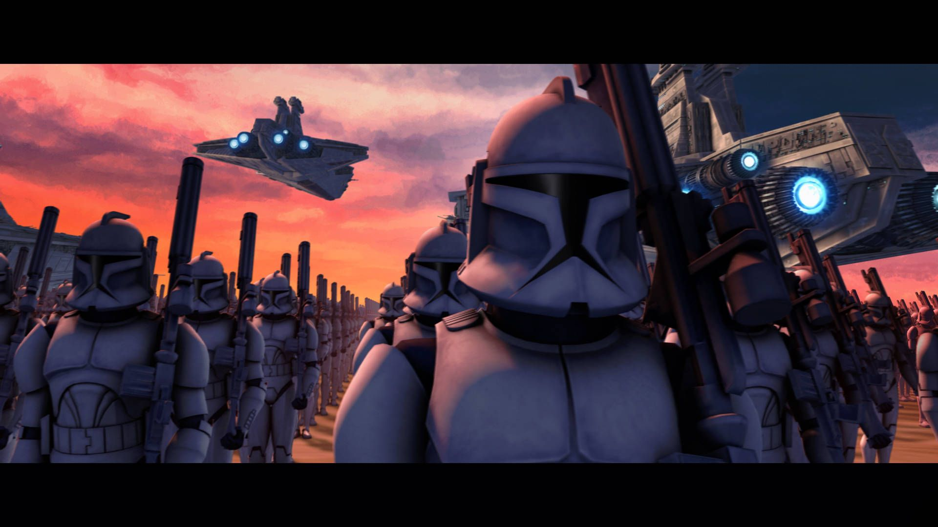 why do all clone wars era stories have the same title clone