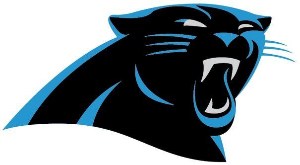 carolina panthers logo ai file football soccer logos pinterest rh pinterest com Panther Paw High School Mascot Panther