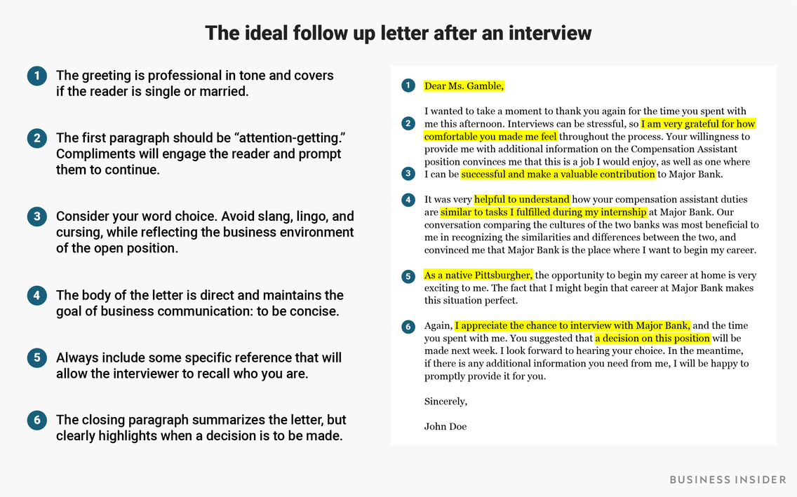 Thank You Email After Interview Example Interview thank