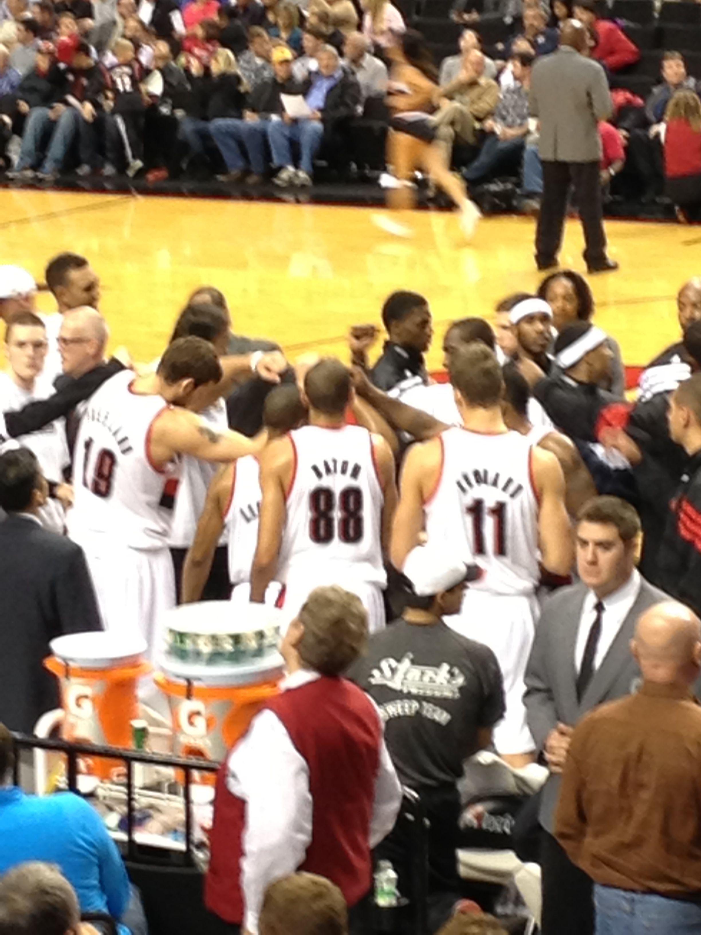 Love these guys ) Good team win against Utah tonight