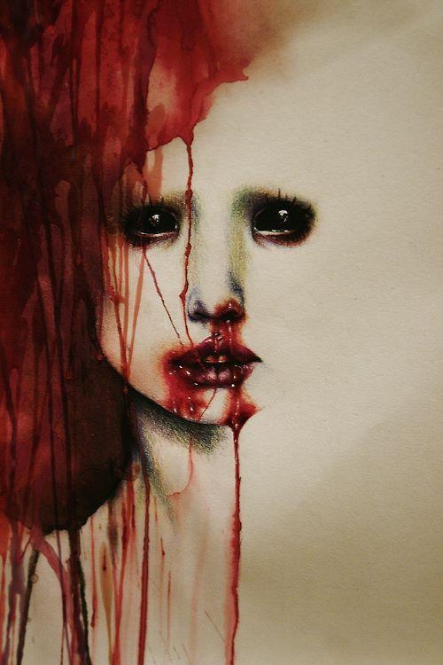 Blood.