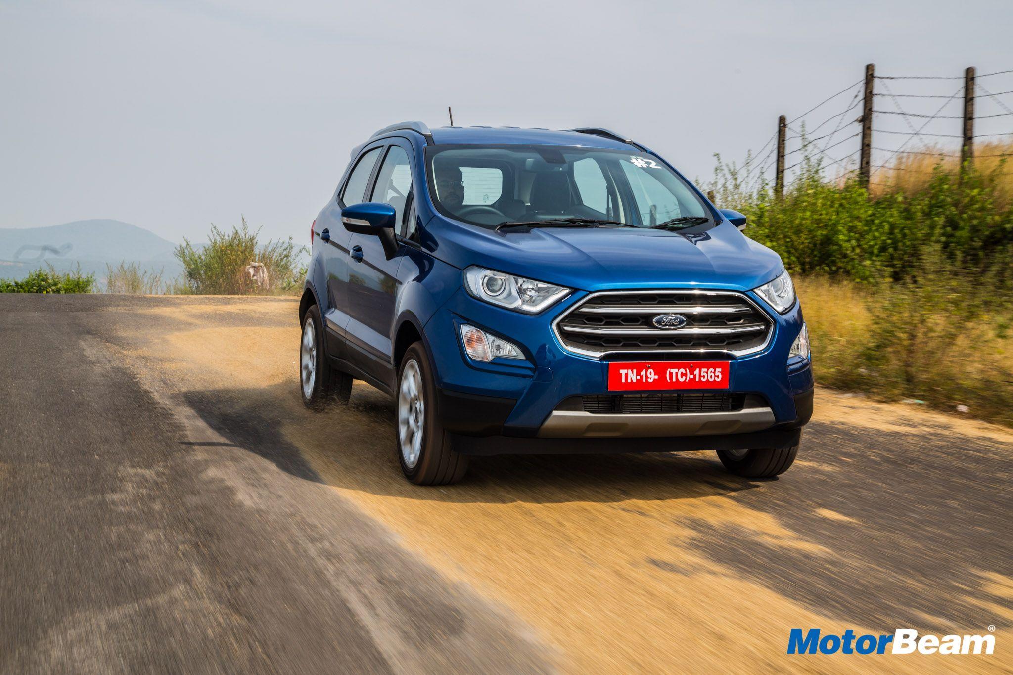 Ford Ecosport Titanium Mt Petrol Variant Price Is Rs 10 47 Lakhs