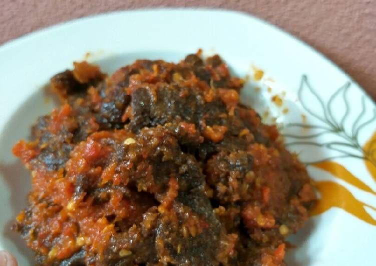 Resep Sambal Dendeng Daging Oleh Sumaiya Sufyan Resep Dendeng Daging Resep