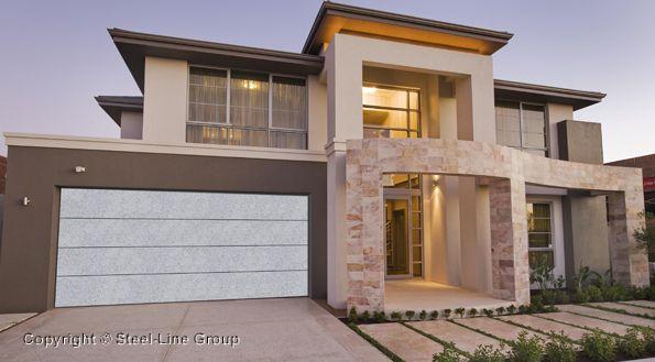 Flat-Line DecoVogue Garage Door - Granite colour | Steel-Line & Flat-Line DecoVogue Garage Door - Granite colour | Steel-Line | Our ...
