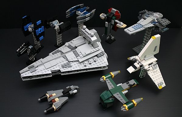 lego star wars mini sets 3 by henry star wars. Black Bedroom Furniture Sets. Home Design Ideas
