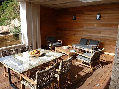 Location vacances maison Tizzano Vue de la terrasse Tizzano