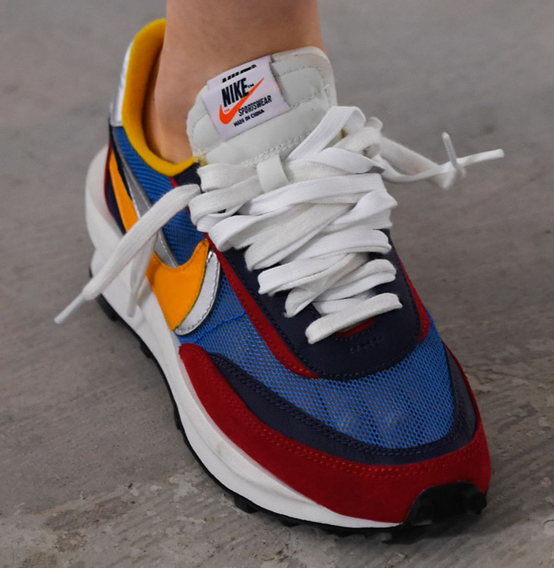 the best attitude 40ffb ecc7b SACAI and NIKE team up once again on two deconstructed iterations of the  WAFFLE RACER and BLAZER, previewed at Paris Fashion Week❗ -What are your  thoughts ...