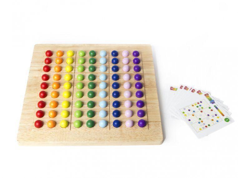 Colorku sudoku in color board game board games puzzle