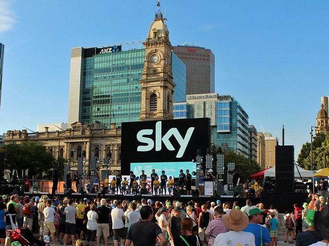 Tour Down Under 2014- Adelaide.