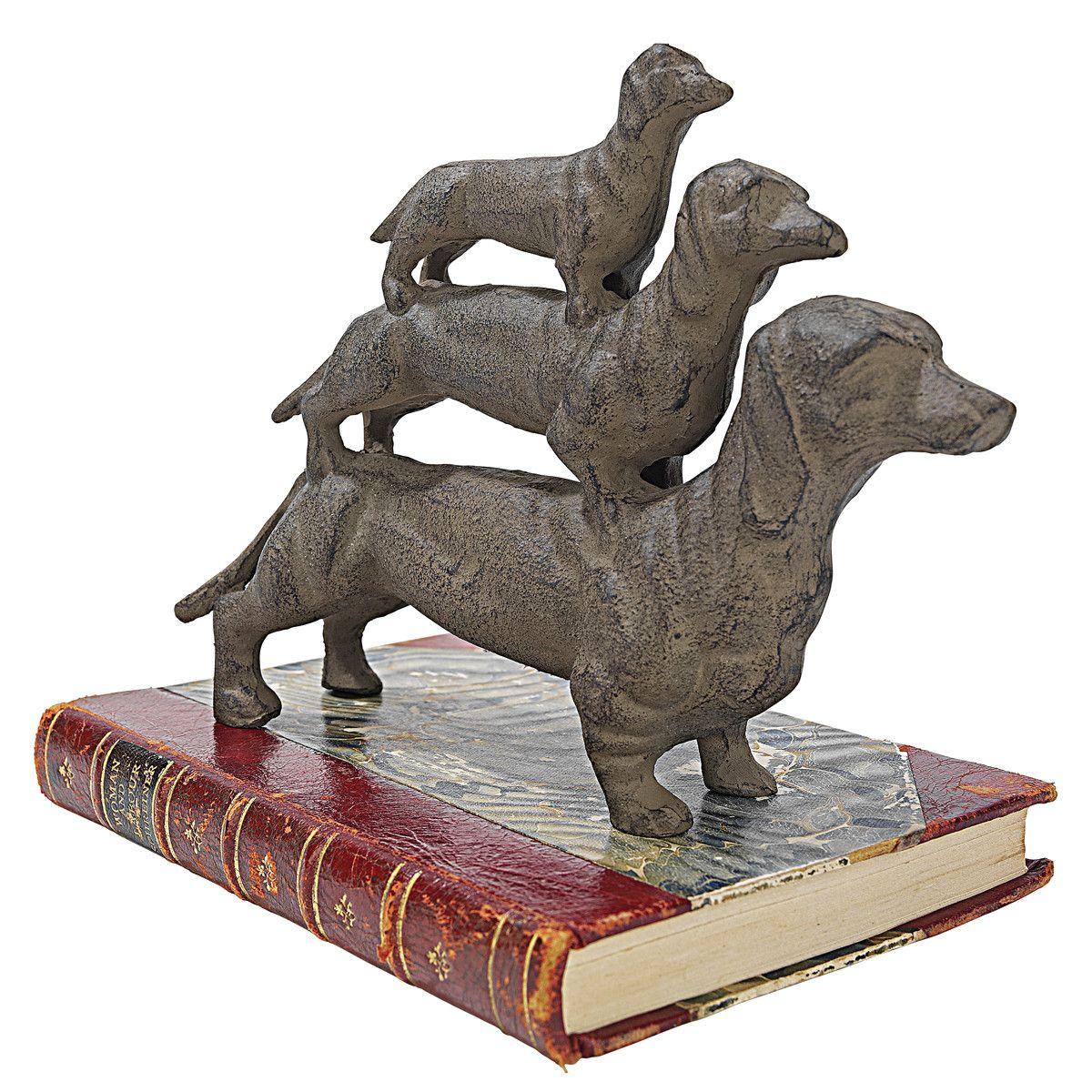 Design Toscano The Zen of Canine Bowwowsana Dachshund Yoga Dog ...