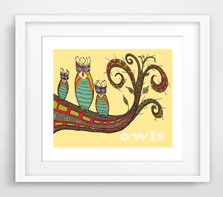 Modern Nursery Art | Kids Wall Art | Childrens Art Print | Nursery ...