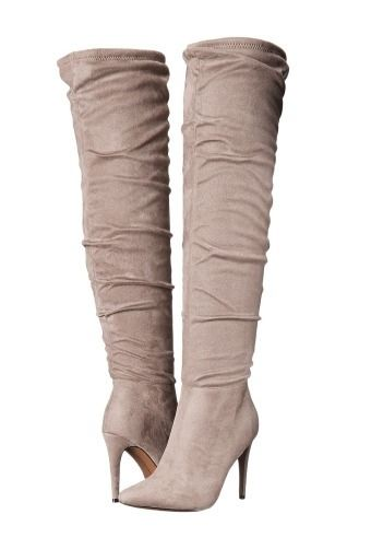 fdb88a77ecc The Best Over the Knee Boots to Buy Now - Chinese Laundry tan suede heeled  boots
