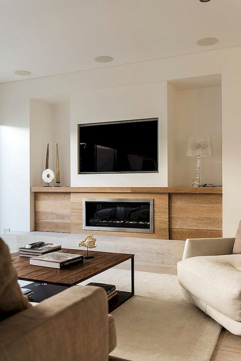 Diy Living Room Decorations Pinterest: 65+ Awesome DIY Living Room Fireplace Ideas