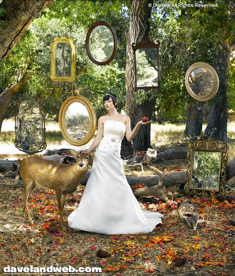 Old mirrors at alter for Snow White themed wedding | Wedding ideas ...