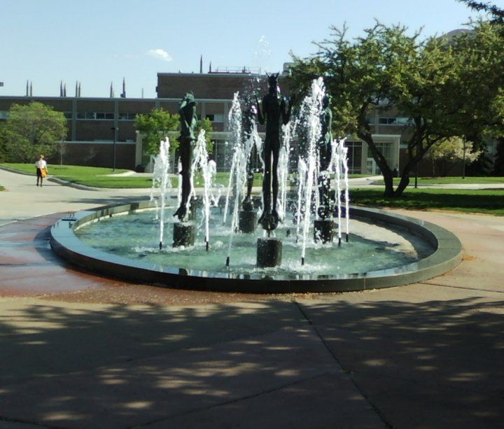 I Love Ou Oakland University Fountain Saints And Sinners