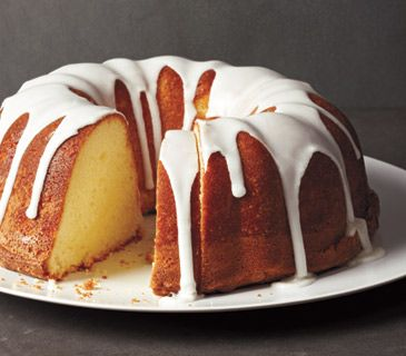 Kentucky Butter Cake With Lemon