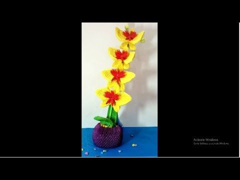 2 how to make 3d origami flower hng dn lm hoa lan origami 3d 2 how to make 3d origami flower hng dn lm hoa lan origami mightylinksfo