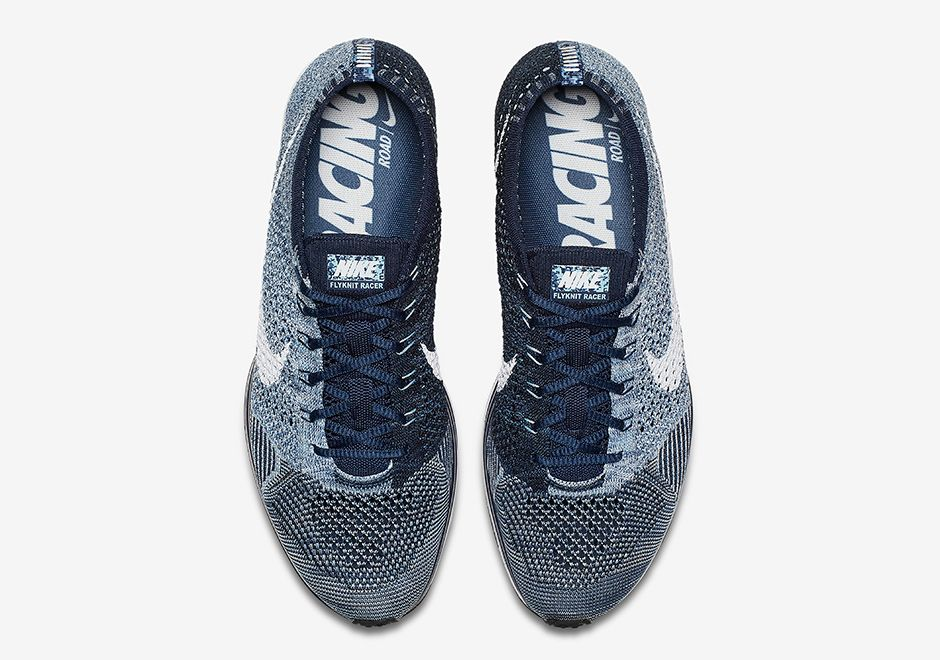 Danimarca Taccuino Hong Kong  Nike Flyknit Racer Blue Tint 862713-401   SneakerNews.com   Nike flyknit  racer, Nike flyknit, Flyknit racer