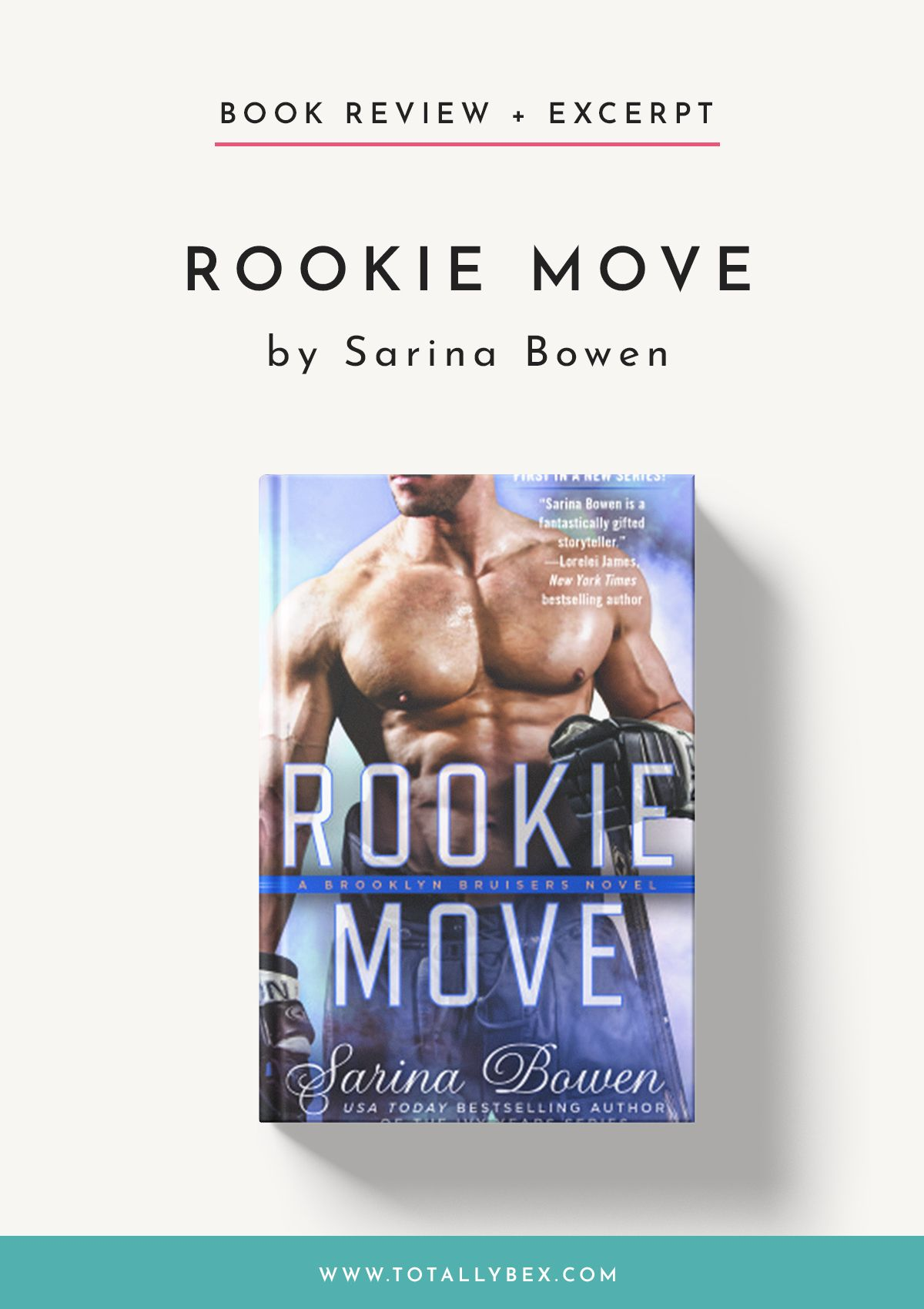 Rookie Move by Sarina Bowen Read My Review + an Excerpt