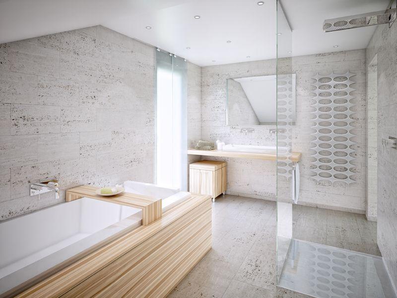 bien zenker - fertighaus - bäder fertighäuser – bad fertighaus, Badezimmer