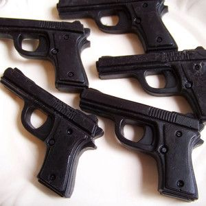 Black Cherry Gun Soap Set Of 3 now featured on Fab.