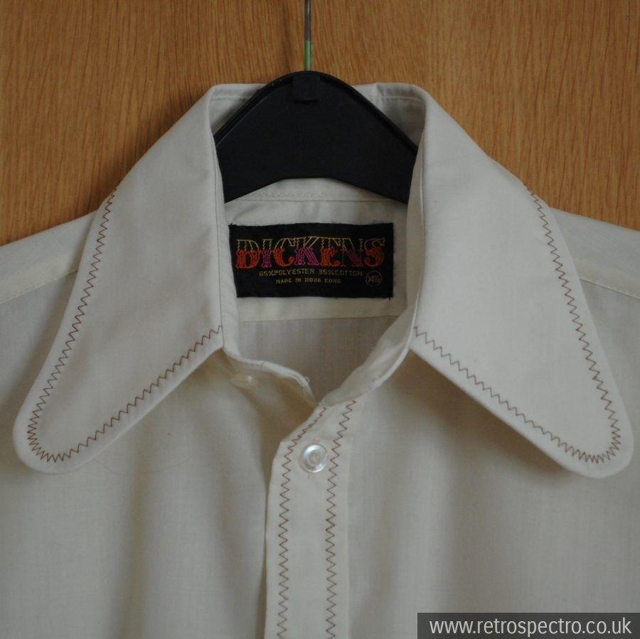 Dickens Beagle Collar Shirt Collar Shirts Shirts Vintage Outfits