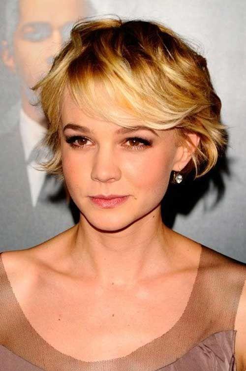 19-Short-Hair-Style-for-Women De peinados, Pelo largo y Corte de pelo