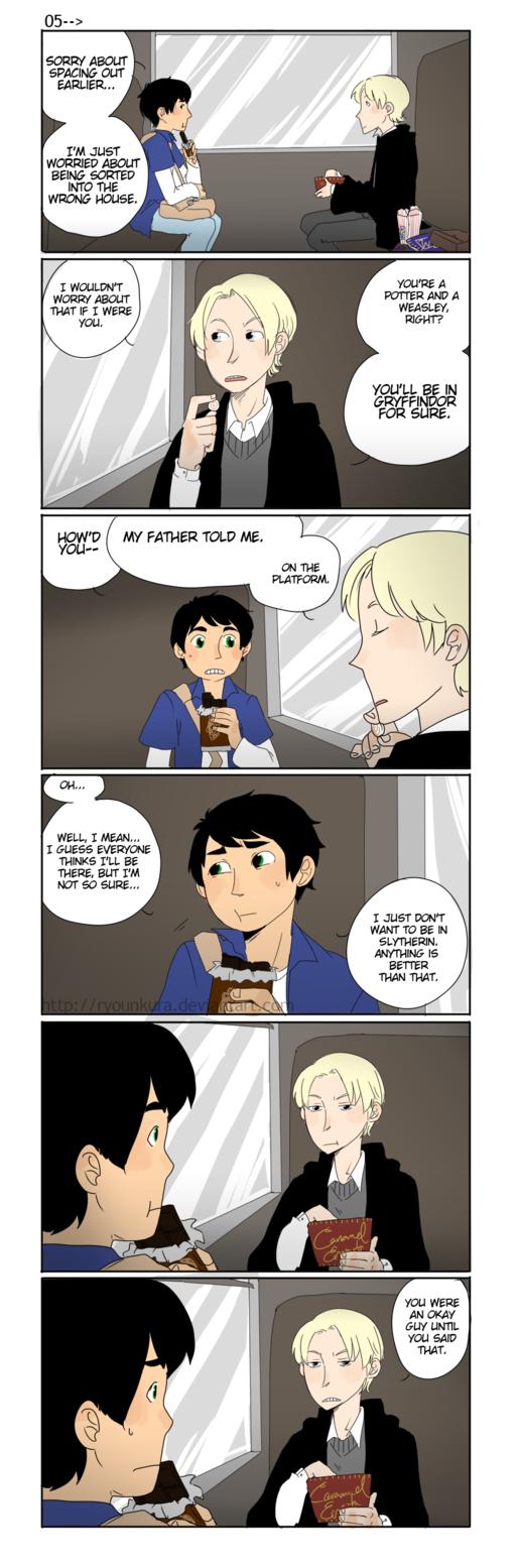 HP: That's not okay, OK? by ryounkura on deviantART