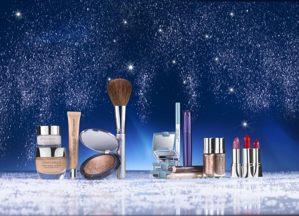 dr pierre ricaud look maquillage no l polaire sous les toiles poudre illuminatrice mascara 3d. Black Bedroom Furniture Sets. Home Design Ideas