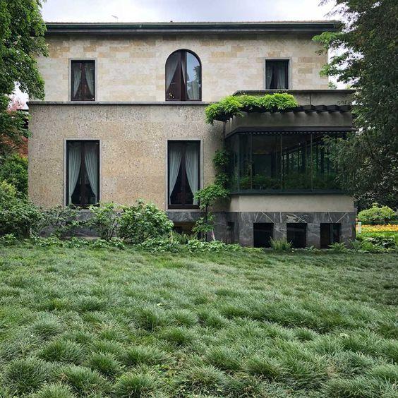 piero portaluppi architetto / villa necchi campiglio