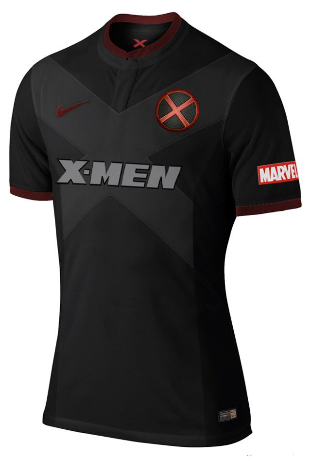 A designer espanhola Nerea Palacios imaginou como seriam as camisas dos  uniformes titulares e reservas de alguns times de heróis que conhecemos  bem!! d6412ea16255c