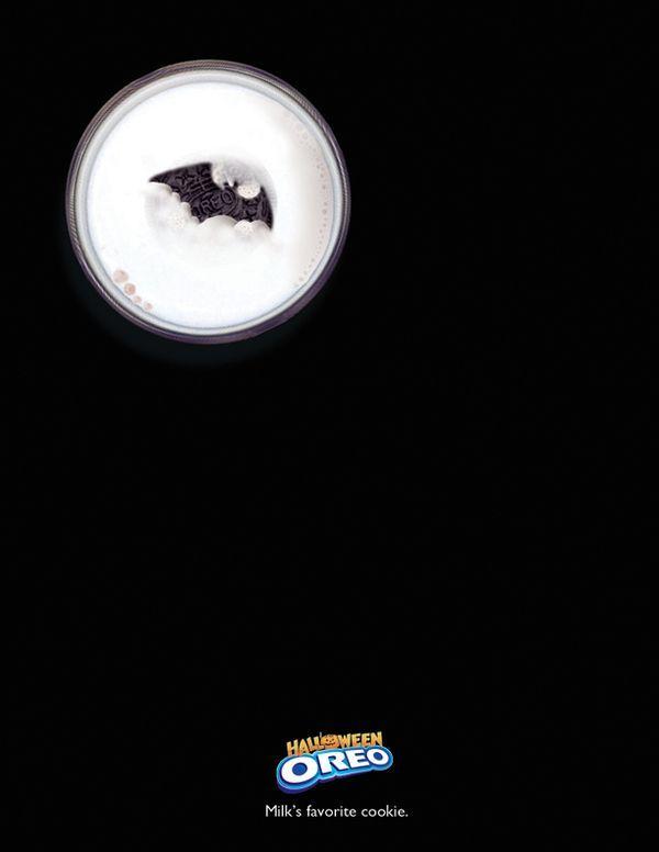 Halloween Creative Ads.Oreo S Way To Celebrate Halloween Publi Oreo Advertising