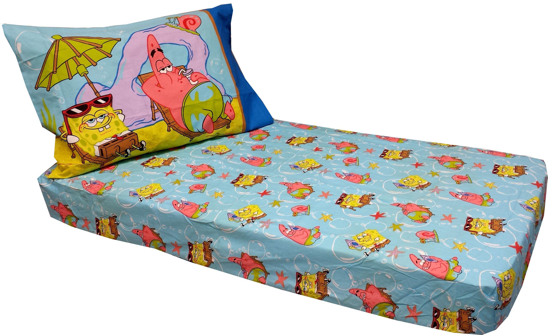 Spongebob Toddler Bed Sheet Set Design Ideas (With images