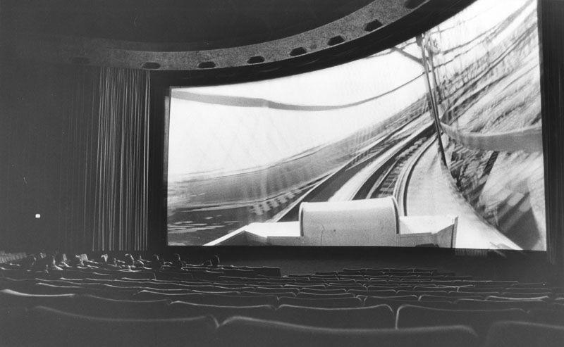 La cinerama dome republic pictures hollywood building