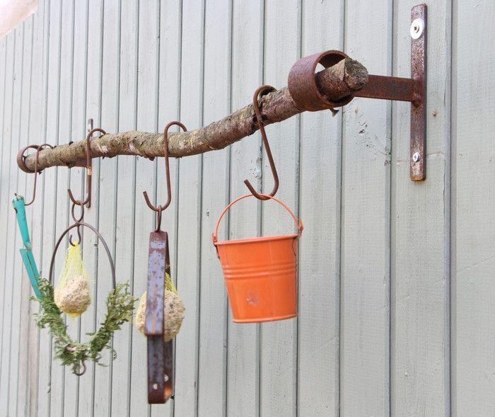Balkon Handtuchhalter Gardinenstange Küche Naturdemo