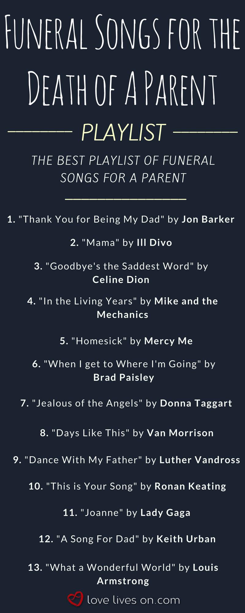200 Best Funeral Songs Funeral Songs Funeral Poems Funeral Quotes
